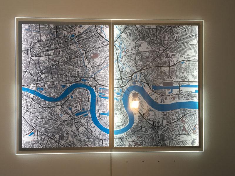 Backlit Signage | Backlit Wall Maps | Illuminated Window ... on