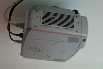 Ceiling-Mounted-Projector