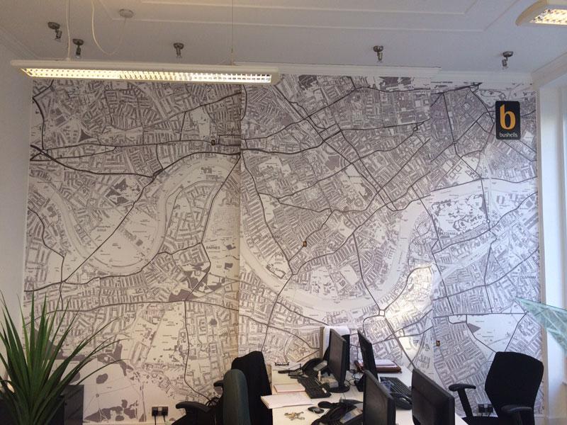 Map wallpaper custom wallpaper for walls ordnance survey wallpaper map 4 gumiabroncs Gallery