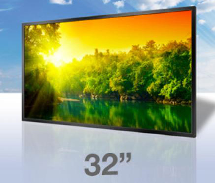 32″ High Brightness Professional Monitor