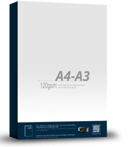 A4/A3 120 / 125 gsm Back Lit Paper for Light Panels.